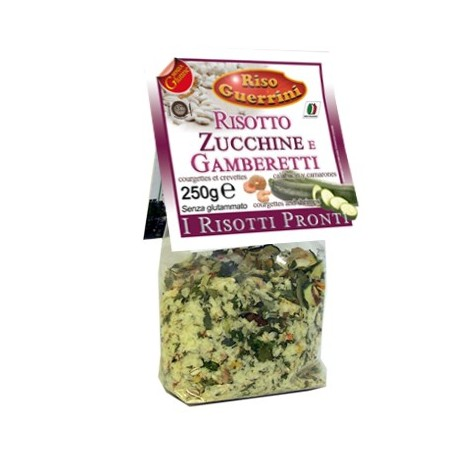 Ready Risotto with courgettes and shrimps - 250g