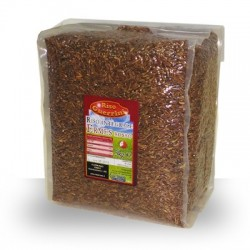 Red brown rice Ermes aromatic - 5kg vacuum