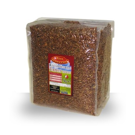 Red brown rice Ermes aromatic - 500g vacuum