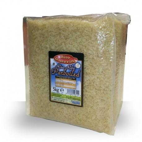 Parboiled Ribe Rice - 5 kg - vacuum