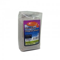 Black brown Venere rice flour 500g - Gluten Free