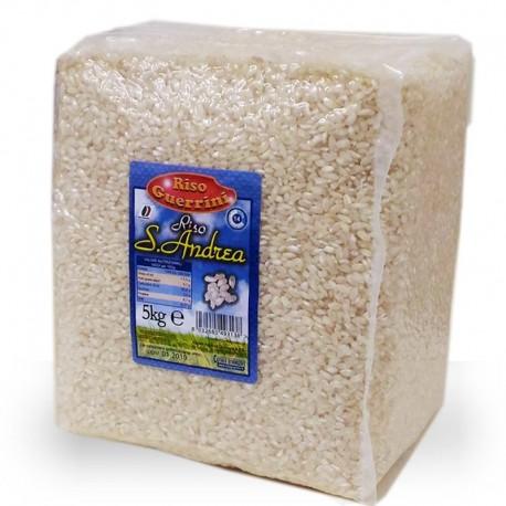 Sant'Andrea Rice - 5 kg - Cotton bag