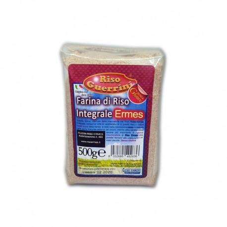 Farina di riso rosso Ermes Integrale- 500g - Senza Glutine