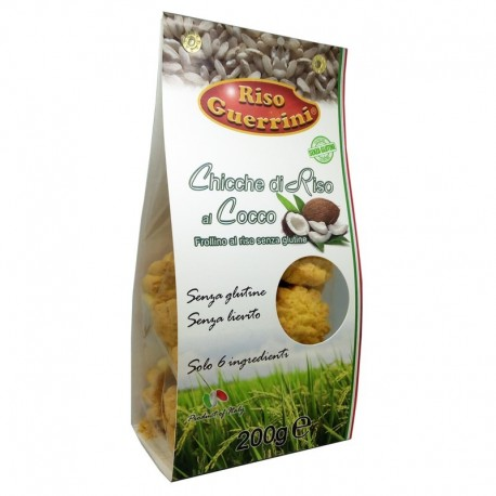 Galletas de arroz y coco sin gluten - 200g