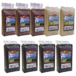 Rabattaktion Aromatischer - 9 ermäßigte duftende Reissorten