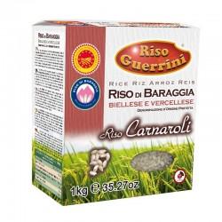 RISO DOP Baraggia - Carnaroli - 1kg