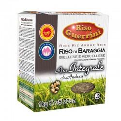 ARROZ DOP Integral - Riso di Baraggia b.se e v.se 1kg