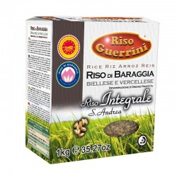 Brown PDO Rice - Baraggia rice 1kg