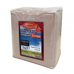 Red brown Ermes rice flour 5kg - Gluten Free