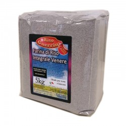 Black brown Venere rice flour 5kg- Gluten Free