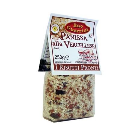 Panissa Vercellese - Risotto Pronto con fagioli e salsiccia - 250g