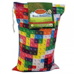 Arroz Arborio - 2kg - bolsa de algodón