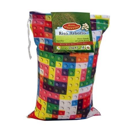 Riso Carnaroli - 2kg - Sacchetto Cotone