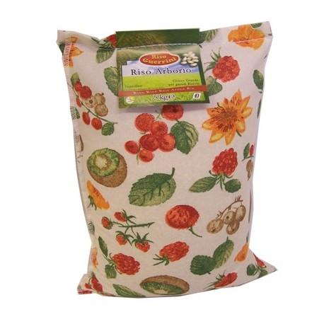 Riso Arborio - 2kg - Sacchetto Cotone