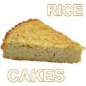 Tortas de arroz y galletas