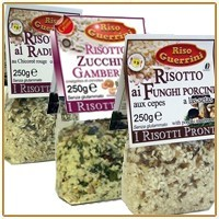Ready risotto with Carnaroli